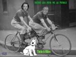 K23.-Humour-Les-Rois-De-La-Pédale-Tintin-Milou.jpg